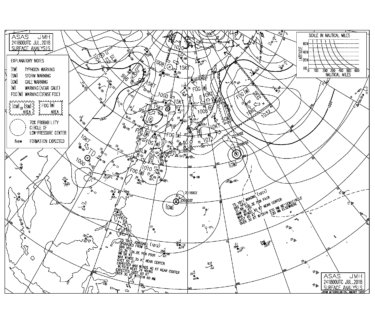 台風12号が発生、本州接近の通り道ができて今後の動きは要注意【2018.7.25】