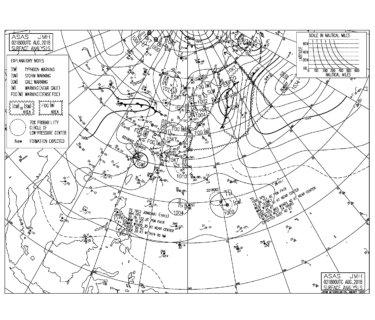 台風12号はまもなく大陸へ上陸、全国的に異常な暑さ【2018.8.3】
