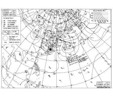 9/4 気圧配置と波情報~台風21号は非常に強い勢力で上陸しそう、湘南の朝一は頭サイズのいい波だけどこれから注意