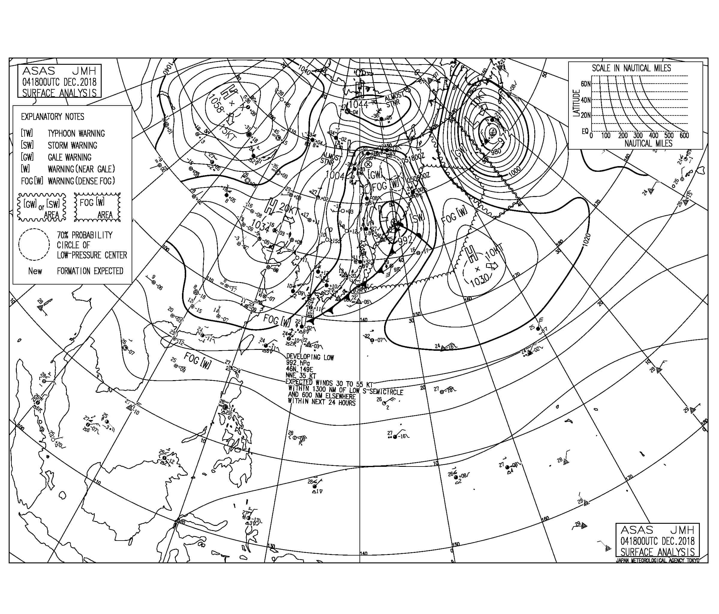 記録的な高温の反動でこの週末はかなり寒くなりそう、今朝の湘南いい波割れてます!(181205)