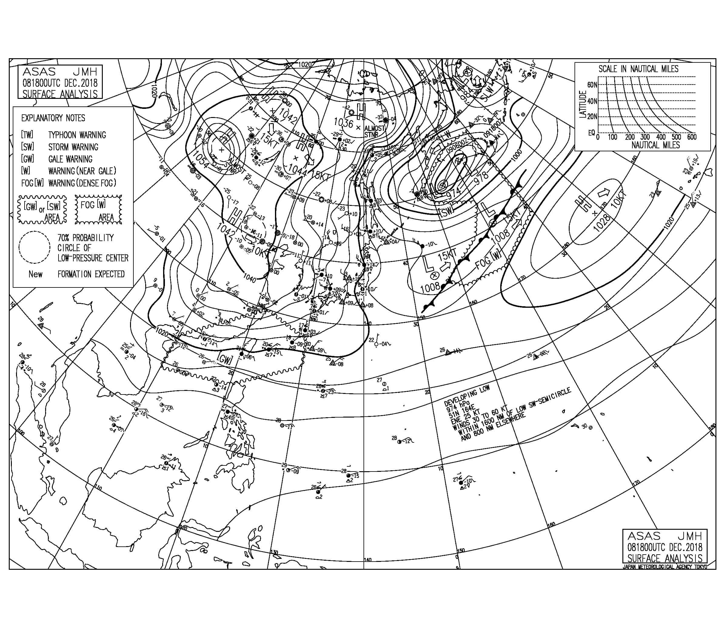 冬型の気圧配置が続き今朝も西うねりに反応して遊べるサイズをキープ、早めに入っておいた方が良さそう(181209)