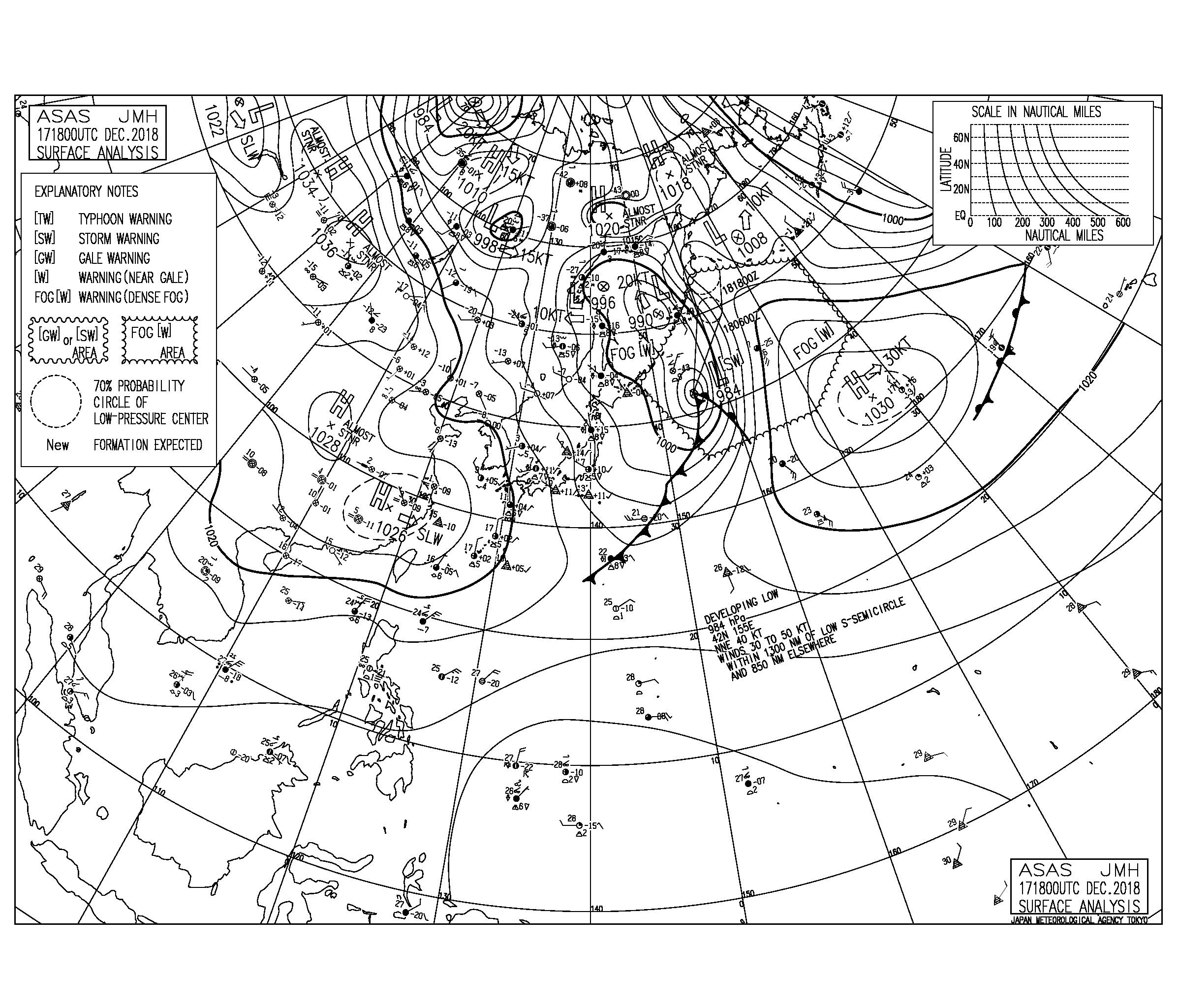千葉は東うねり&湘南は西うねりが反応して十分なサイズ,風が変わる前に入っておきたい(181218)