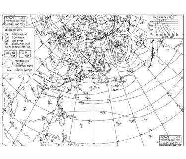 低気圧からの南東うねりが反応してきて少しサイズアップ(2018.12.23)