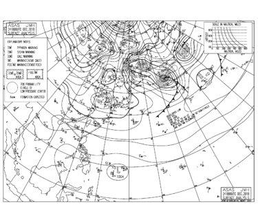 風の穏やかなクリスマス,木曜からは西うねりが期待できそう(2018.12.25)