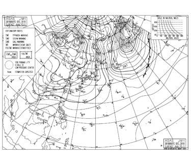 大晦日後半から元旦は北東うねりが反応しそう、いい波で初乗りできるかも(2018.12.31)