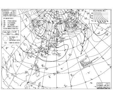 湘南は南西の風波で朝一からサイズアップ,千葉北はサイズダウン(2019.1.5)