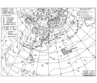 西〜南西の波が残るも湘南は朝一から急速にサイズダウン(2019.1.9)