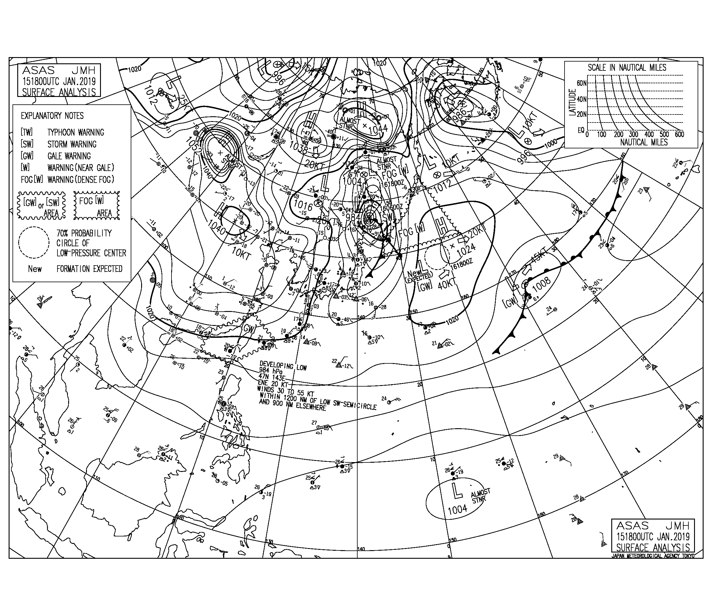 千葉は北東うねりが続き湘南は南西の風波で遊べるコンディション(2019.1.16)