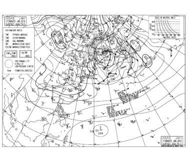 千葉は北東うねりは弱まりサイズダウン,湘南は西うねりに少し反応(2019.1.18)