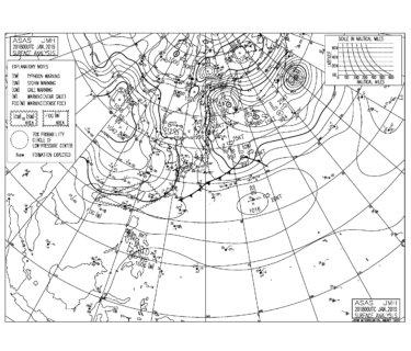 冬型の気圧配置が強まり西うねりで湘南は遊べるコンディション(2019.1.21)