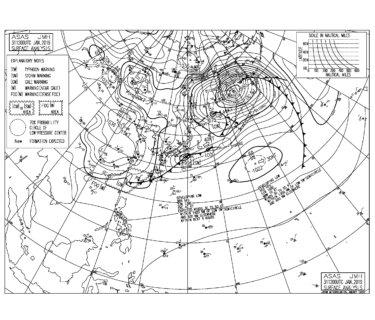 低気圧からの南西うねりでサイズアップ【2019.2.1】