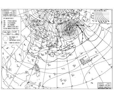 北~北東の強い風をかわすポイントへ【2019.2.14】
