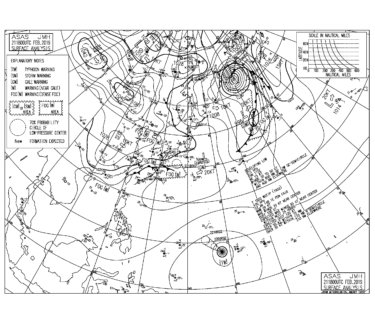 低気圧により西日本から雨、関東でも夜にはまとまった雨になりそう【2019.2.22】