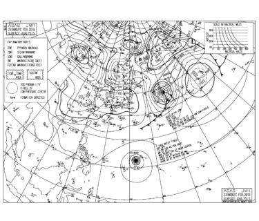 北東~東うねりの反応が継続、風が弱い時間帯は十分楽しめそう!【2019.2.24】