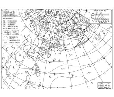 寒の戻りで寒い朝、西高東低の冬型の気圧配置で朝は北の風ベース【2019.4.2】