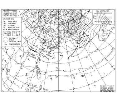 西高東低の気圧配置が続き冷たい北風、関東は明日の日中から暖かくなりそう【2019.4.3】
