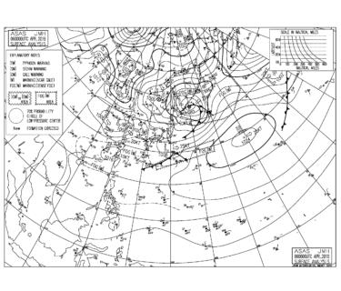 夜明け前から北の風にシフト、湘南は朝一からファンコンディション【2019.4.6】