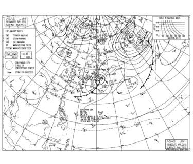 南岸低気圧により各エリアでサイズアップ!北の風かわすポイントへ【2019.4.11】