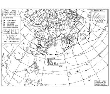 低気圧からの東うねり、千葉はハードなポイントが目立つ【2019.4.12】
