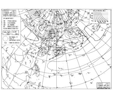 東海上の低気圧から東うねりの反応が良くなりそう、今日から大潮まわり【2019.4.18】