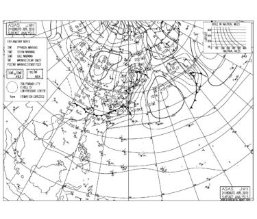 低気圧に向けての南から南東うねりでサイズアップ、湘南も遊べる波【2019.4.25】