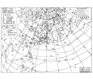 令和のはじまりは低気圧からの強い南東うねり、湘南は朝からいい波!【2019.5.1】
