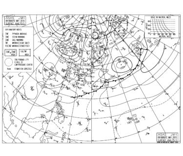東京の最高気温は28度予想、午後は海風が強まりそう【2019.5.10】
