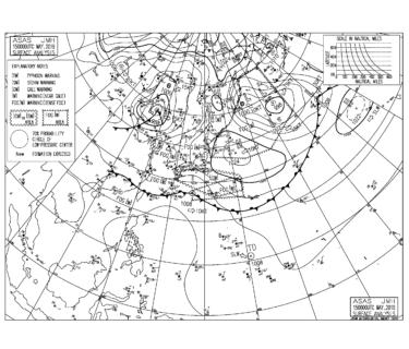 奄美地方で梅雨入り、高気圧から南東うねりが強まる【2019.5.15】
