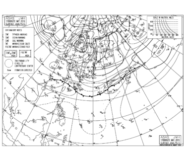 沖縄地方も梅雨入り、太平洋側は南東うねりが強まる【2019.5.17】