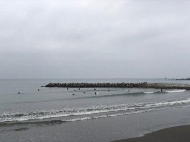 【2019.6.10】オホーツク海高気圧からの冷たい北東の風、東京の最高気温は18度予報