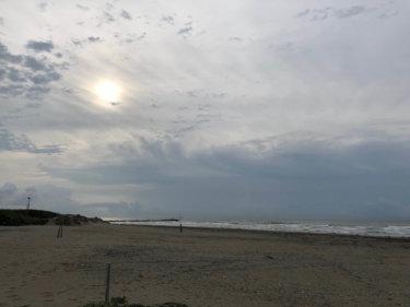 【2019.6.22】夏至の千葉エリアは朝4時前からたっぷりサーフィン楽しめる