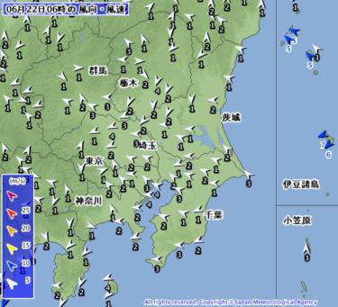 【2019.6.22】今日のサーフィン波情報と潮位(満潮/干潮)