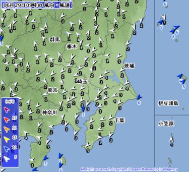 【2019.6.29】今日のサーフィン波情報と潮位(満潮/干潮)