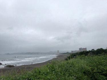 【2019.6.29】台風3号の残うねりで朝一はファンウェイブ、西日本は豪雨に厳重警戒
