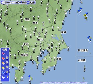 【2019.7.1】今日のサーフィン波情報と潮位(満潮/干潮)