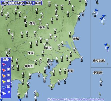 【2019.7.2】今日のサーフィン波情報と潮位(満潮/干潮)