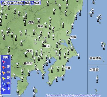 【2019.7.3】今日のサーフィン波情報と潮位(満潮/干潮)