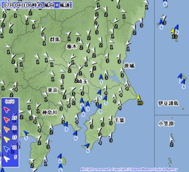 【2019.7.4】今日のサーフィン波情報と潮位(満潮/干潮)