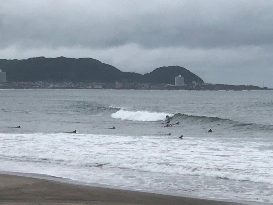 【2019.7.6】湘南と千葉ともに昼前からサイズアップしていい波になってきた!