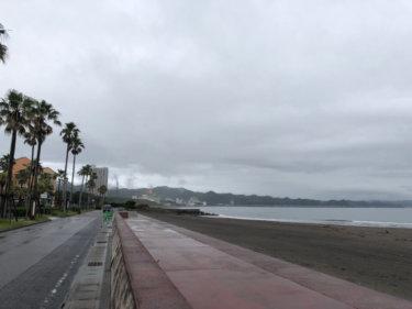【2019.7.7】七夕の関東は朝一から強い北東の風、今週は北東の風がしばらく続きそう
