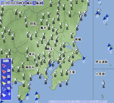 【2019.7.10】今日のサーフィン波情報と潮位(満潮/干潮)