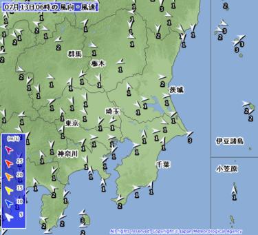 【2019.7.13】今日のサーフィン波情報と潮位(満潮/干潮)