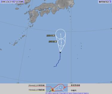 【2019.7.25】今日のサーフィン波情報と潮位(満潮/干潮)