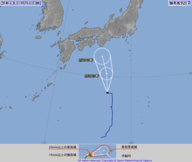 【2019.7.26】今日のサーフィン波情報と潮位(満潮/干潮)