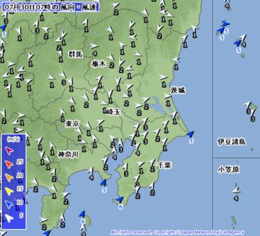 【2019.7.30】今日のサーフィン波情報と潮位(満潮/干潮)