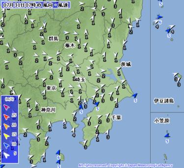 【2019.7.31】今日のサーフィン波情報と潮位(満潮/干潮)