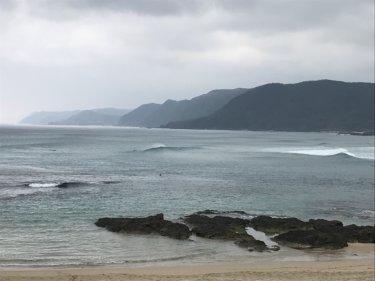 台風8号の南東うねりで外海はクローズアウト、今週はずっとうねりが続く 【2019.8.5】