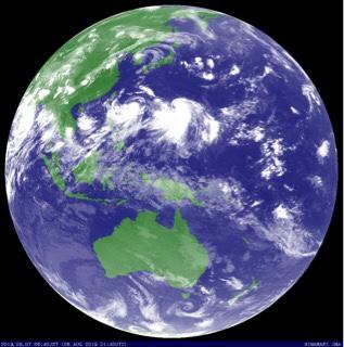 台風9号の南西うねりが今夜までに反応してくるか⁈ 明日の朝一に期待!【2019.8.7】