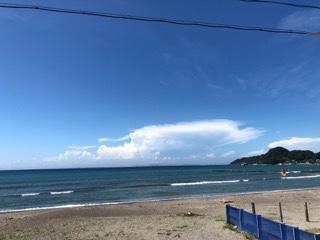 台風のうねりが強い状態が継続、技量に合わせて南西の風をかわすポイントへ【2019.8.10】