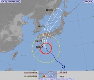台風10号は今夜にも西日本に最接近し上陸へ、長時間の大雨に厳重警戒を【2019.8.14】